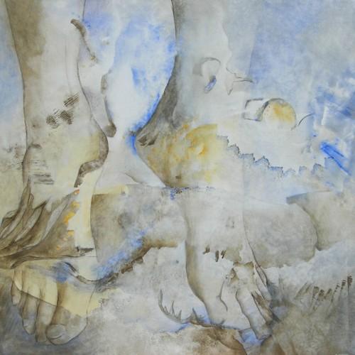 Aïeule – Acrylique sur toile – 80 cm x 80 cm